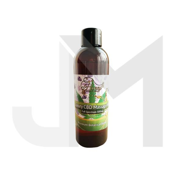 Honey Heaven 500mg CBD Luxury Massage Oil 100ml