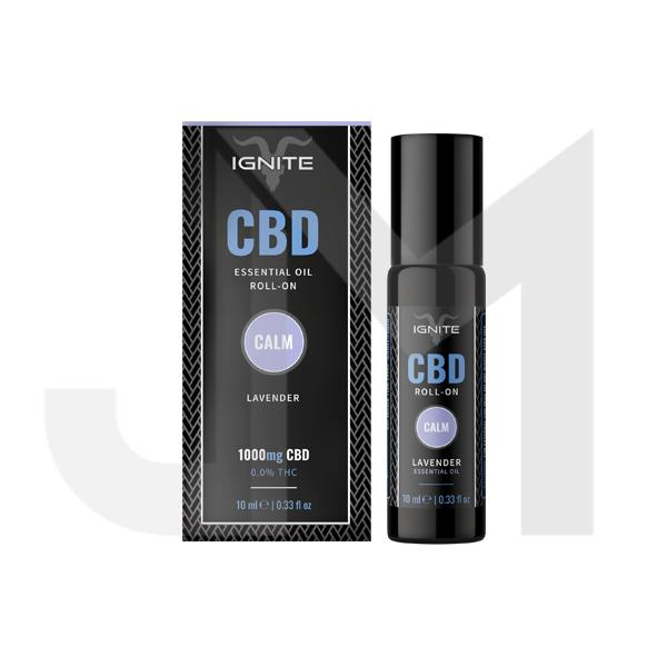 Ignite CBD 1000mg CBD Roll On 10ml