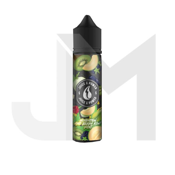 Juice N' Power Fruit Range 50ml Shortfill 0mg (70VG/30PG)