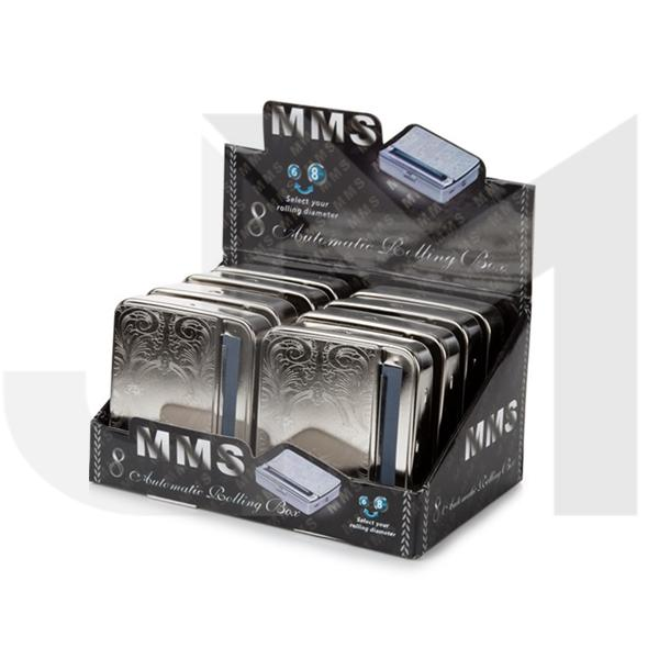 8 x MMS Auto Metal Regular Rolling Machine - MMS-ROL2