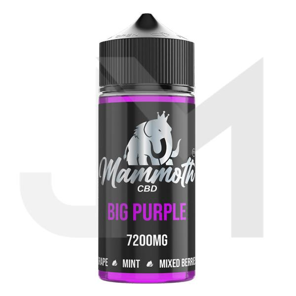 Mammoth CBD 7200mg CBD E-liquid 120ml (30VG/70PG)
