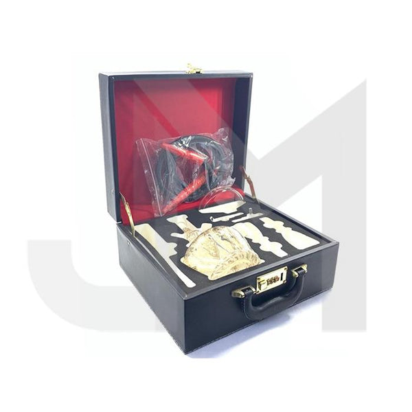 Portable Glass Hookah In Suitcase - SY59