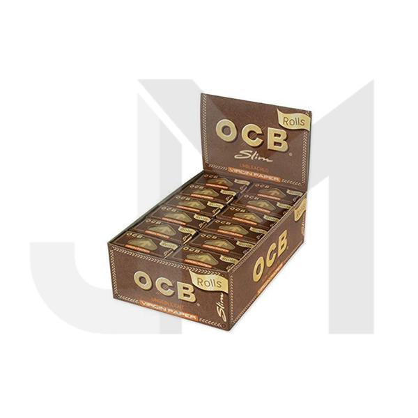 24 OCB Slim Virgin Rolls