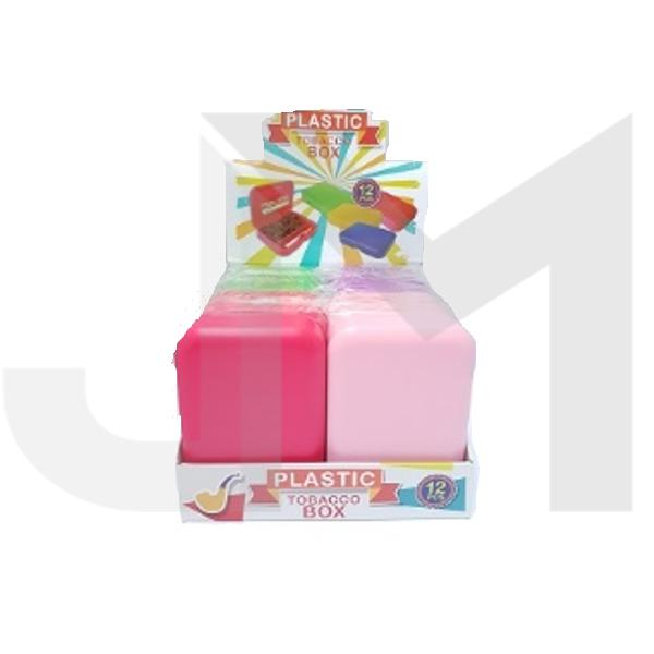 12 x Plastic Standard Multi-Colour Rolling Storage Box - FG600