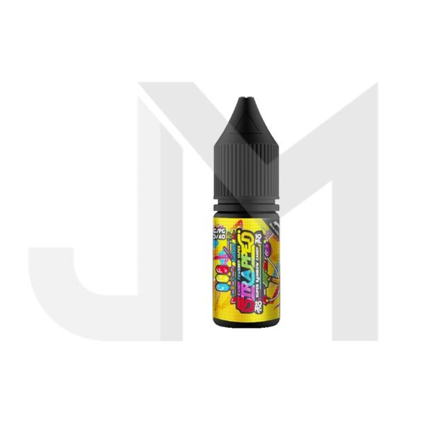 20mg Strapped 10ml Flavoured Nic Salt (60VG/40PG)