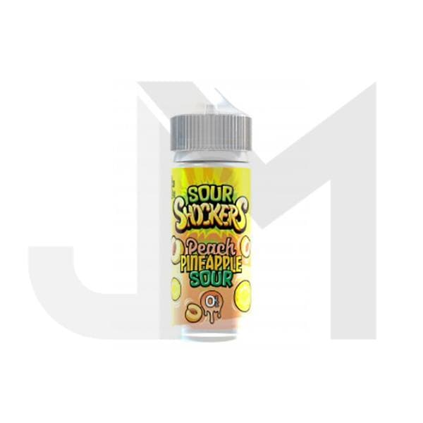 Sour Shockers 0mg 100ml Shortfill (70VG/30PG)