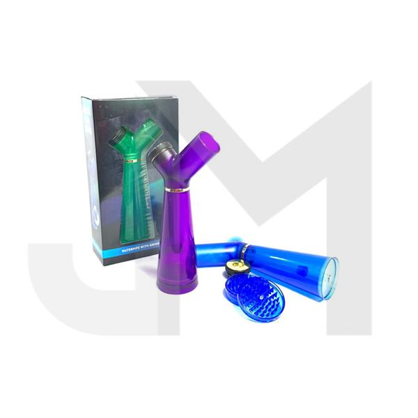 New Plastic Water Pipe With Grinder Base - YD240