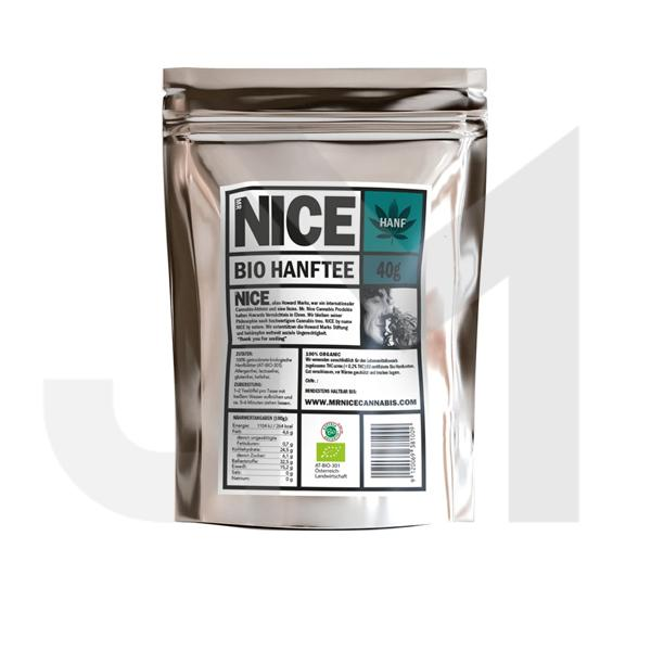 Mr Nice Organic Hemp Tea 40g