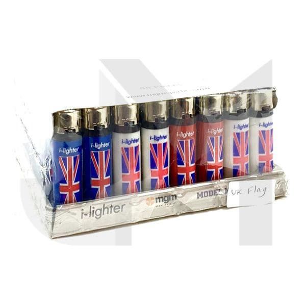 48 x I-Lighter Classic Flint Refillable Lighters - Y-220
