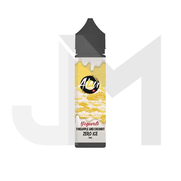 AISU by Zap Juice Zero Ice 50ml Shortfill 0mg (Free ZAP 18mg Nic Salt)