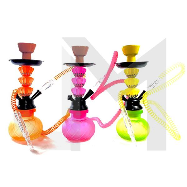6 x Small Single Hose Shisha Hookah - A13
