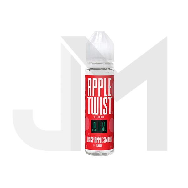 Apple Twist 0mg 50ml Shortfill E-Liquid (70VG/30PG)