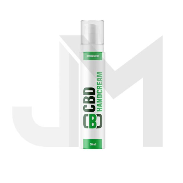 CBD Asylum Hand Cream 1000mg CBD 50ml