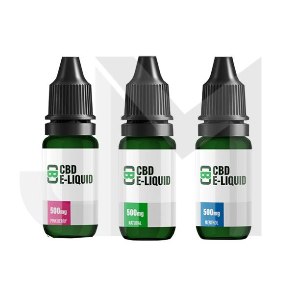 CBD Asylum 500mg CBD E-liquid 10ml (70VG/30PG)