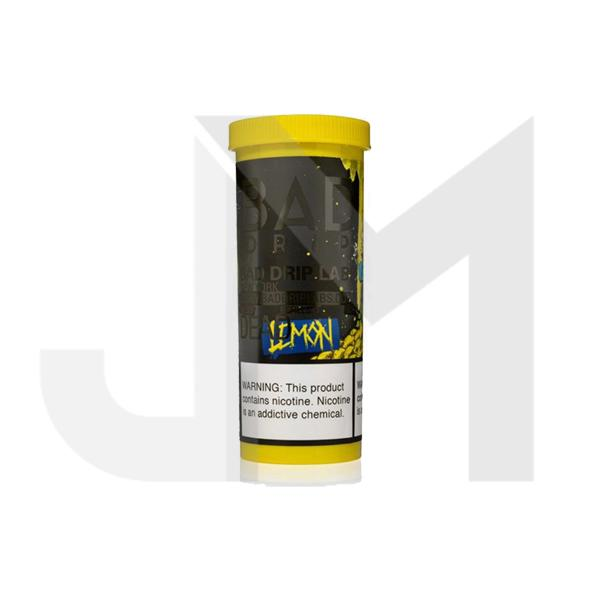 NEW Dead Lemon by Bad Drip 0mg 50ml Shortfill (80VG/20PG)