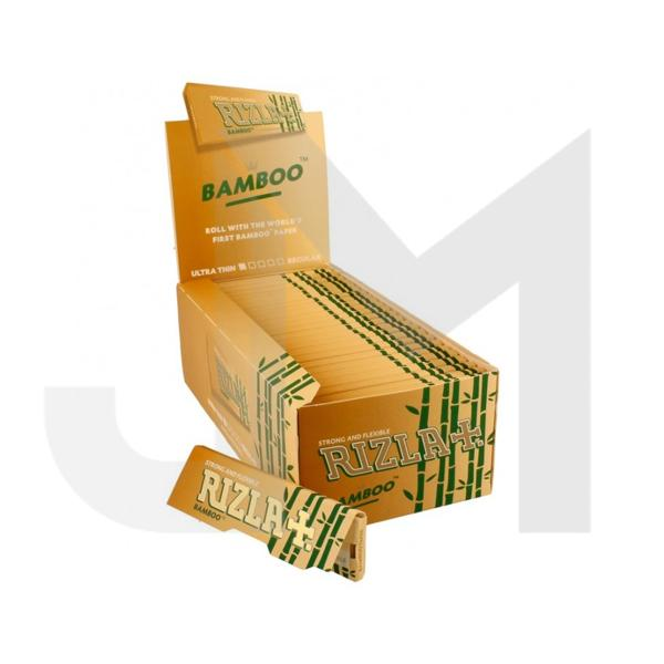 50 Rizla Bamboo Regular Ultra Thin Rolling Papers