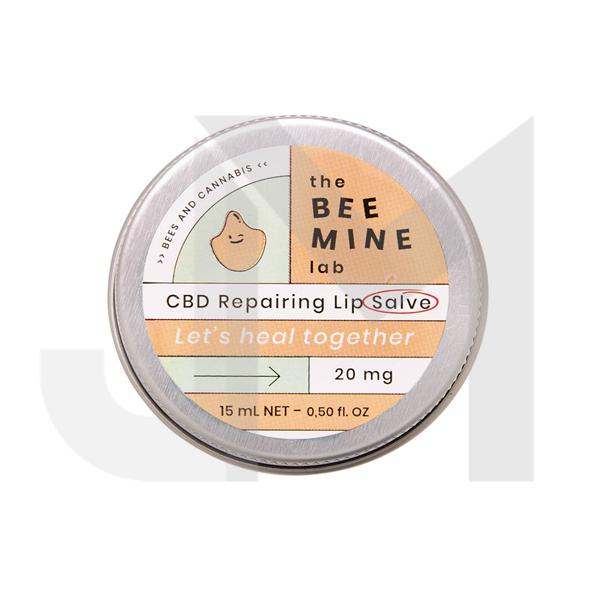 The Beemine Lab 20mg CBD Lip Balm 15ml