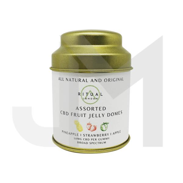 Ritual London 150mg CBD Vegan Fruit Jelly Domes