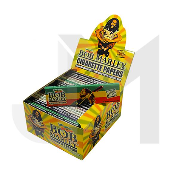 50 Bob Marley King Size Rolling Papers