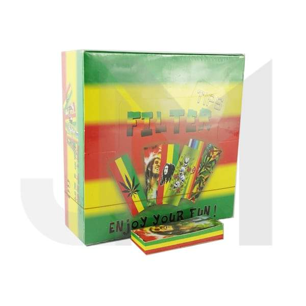 60 Raggae Multi-Colour Filter Tips