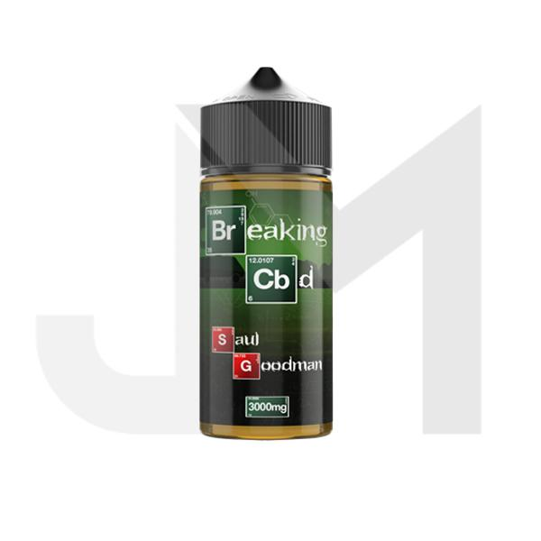 Breaking CBD 3000mg CBD E-Liquid 120ml (50VG/50PG)