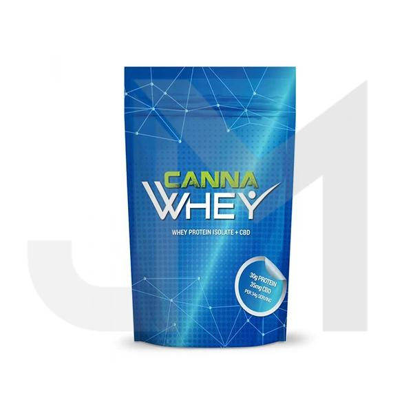 CannaWHEY CBD Whey Protein Drink 500g - Blueberry Muffin
