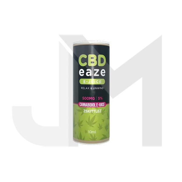 CBD Eaze 500MG CBD 10ml E-Liquid
