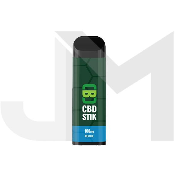 CBD Asylum CBD Stik 100mg Disposable Vape Pen - Menthol