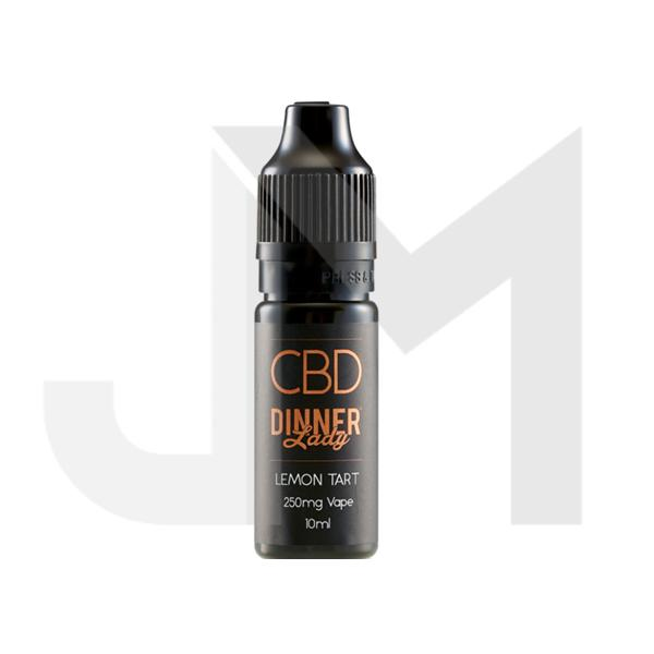 Dinner Lady 250mg CBD 10ml E-Liquid (70VG/30PG)