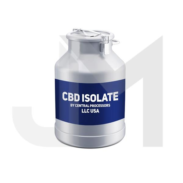 99.7% Pure American Bulk CBD Isolate Wholesale UK (by Central Processors US)