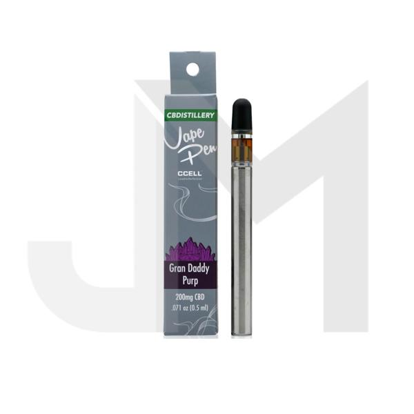 CBDistillery 200mg CBD Disposable Vape Pens