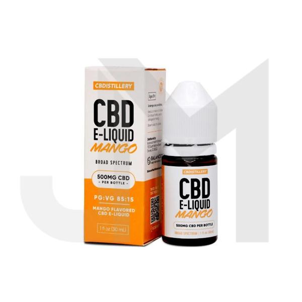 CBDistillery 500mg CBD E-Liquid 30ml (85VG/15PG)