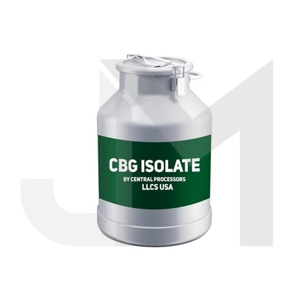 96% American Bulk CBG Isolate Wholesale UK (by Central Processors US)