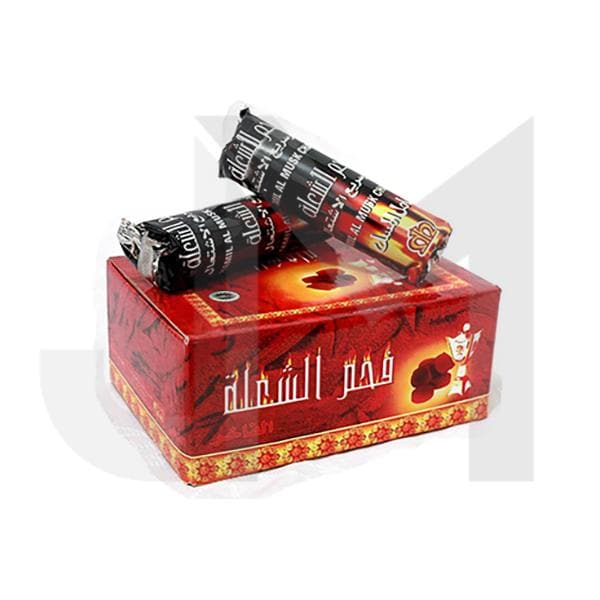 Shisha Hookah Charcoal - 100 pieces (full box)
