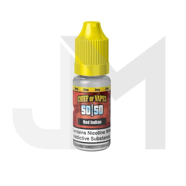 Chief of Vapes 12mg 10ML E-Liquids (50VG/50PG)