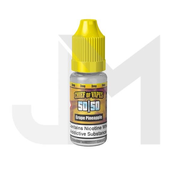 Chief of Vapes 3mg 10ML E-Liquids (50VG/50PG)