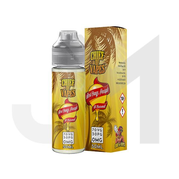 Chief of Vapes 0mg 50ml Shortfill (70VG/30PG)