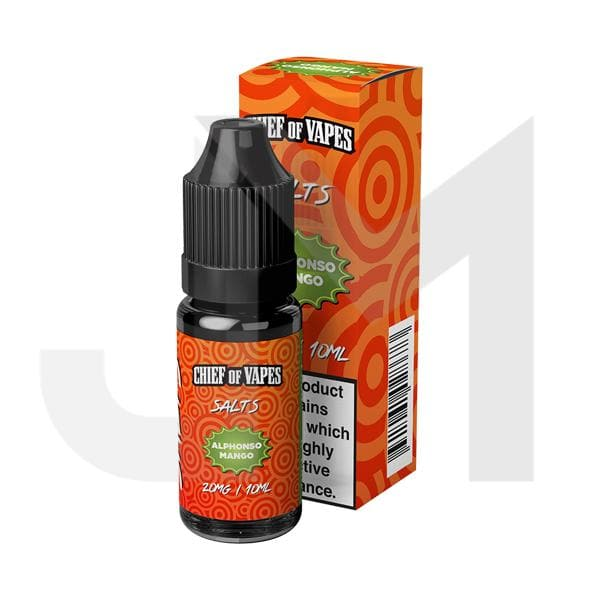 10mg Chief of Vapes Sweets Flavoured Nic Salt 10ml (50VG/50PG)