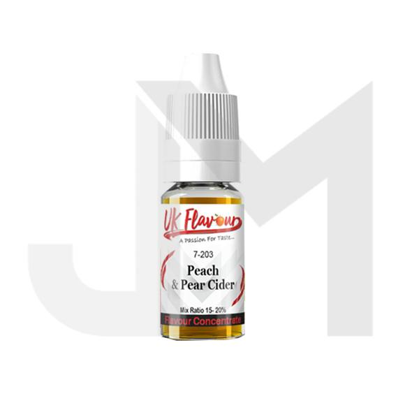 10 x 10ml UK Flavour Cider Range Concentrate 0mg (Mix Ratio 15-20%)