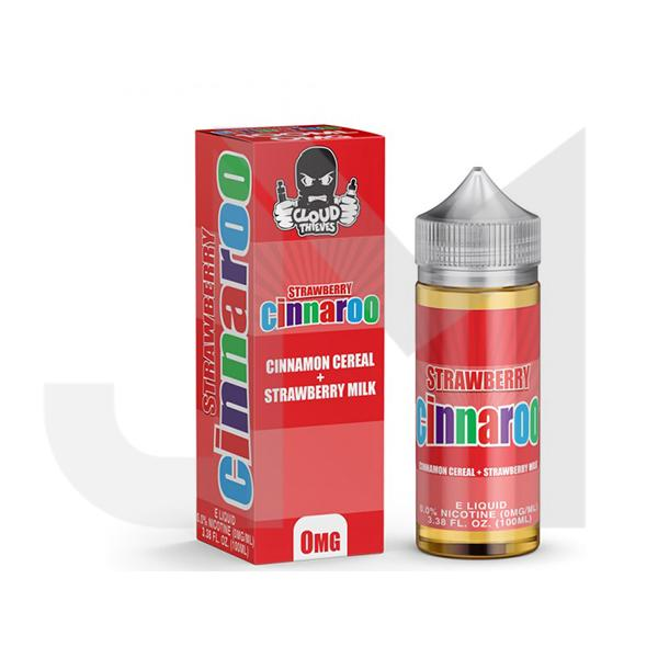 Cinnaroo Strawberry by Cloud Thieves 100ml Shortfill 0mg (70VG/30PG)