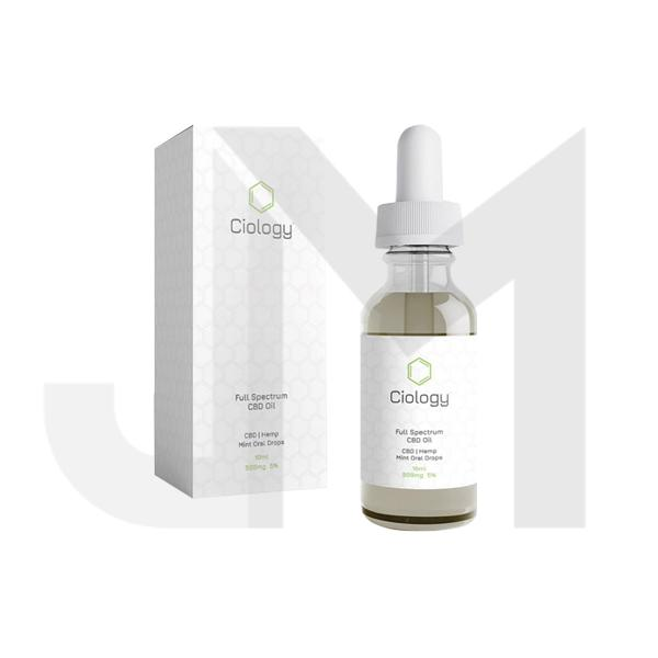 Ciology 500mg Full Spectrum CBD Oil 10ml