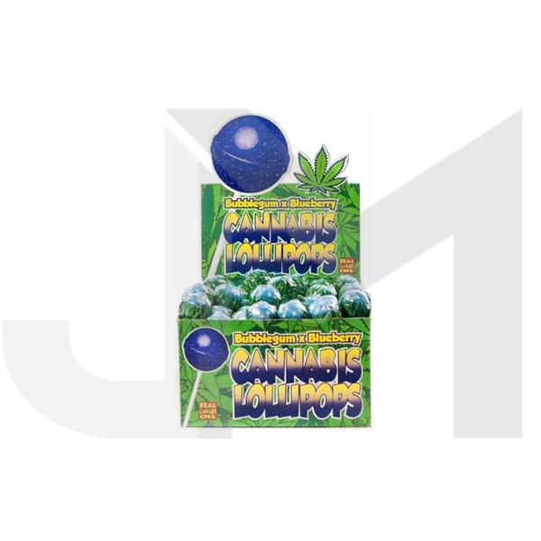 Dr Greenlove Cannabis Lollipops Blueberry Flavour