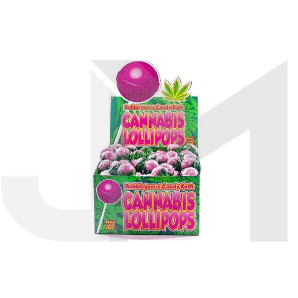 Dr Greenlove Cannabis Lollipops Candy Kush Flavour