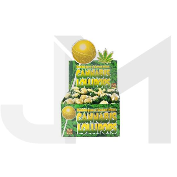 Dr Greenlove Cannabis Lollipops Lemon Haze Flavour