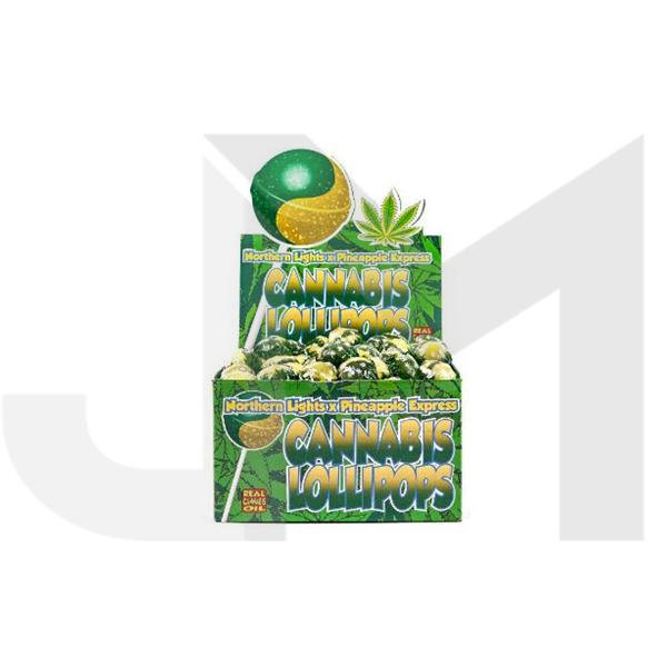 Dr Greenlove Cannabis Lollipops Pineapple Express Flavour