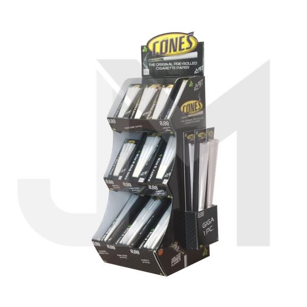 Cones Pre-Loaded 66 Mix Pieces Display Tower