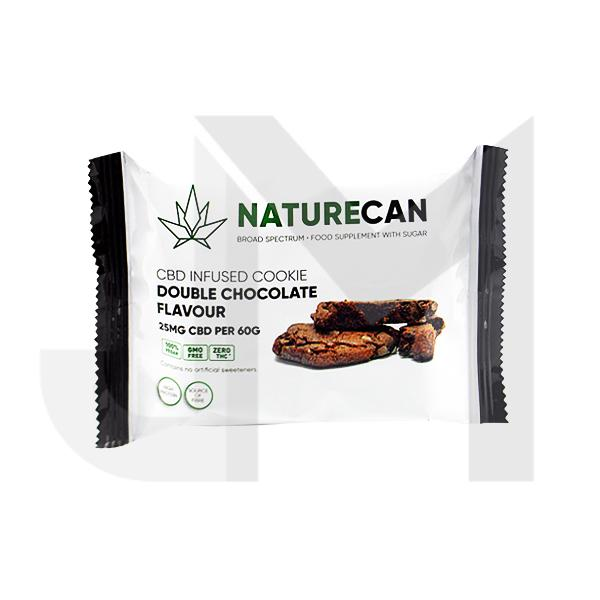 Naturecan 25mg CBD Double Chocolate Cookie 60g