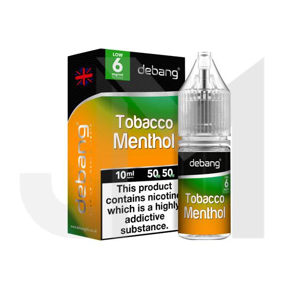 6mg Debang 10ml E-Liquid (50VG/50PG)