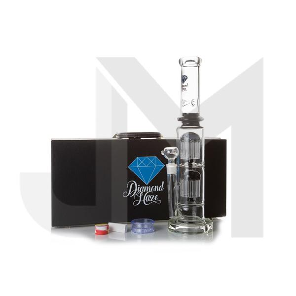 Diamond Haze Glass Bong with Suitcase Gift (Bong 3)
