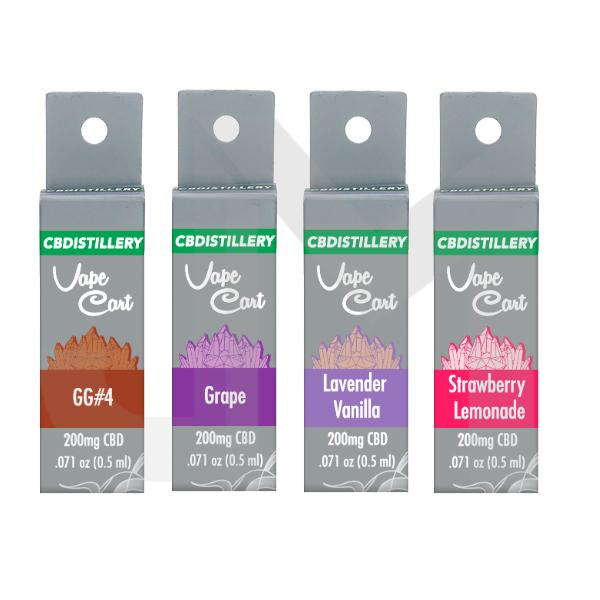 CBDistillery 200mg CBD Vape Cartridges